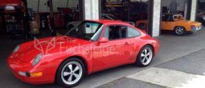 Fuchs wheels 911 Red Porsche